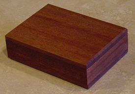 Mahogany Playing Card Holder
